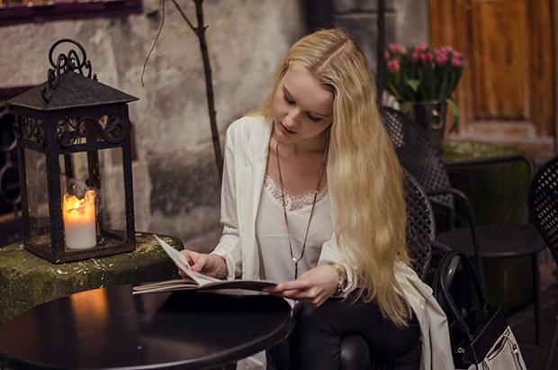 Sesja w kawiarni