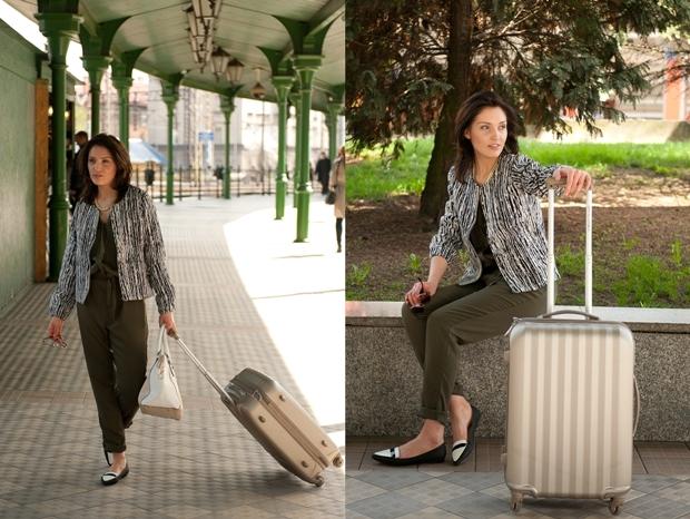 jak się ubrać na podróż