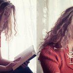 Strój na leniwe popołudnie z książka